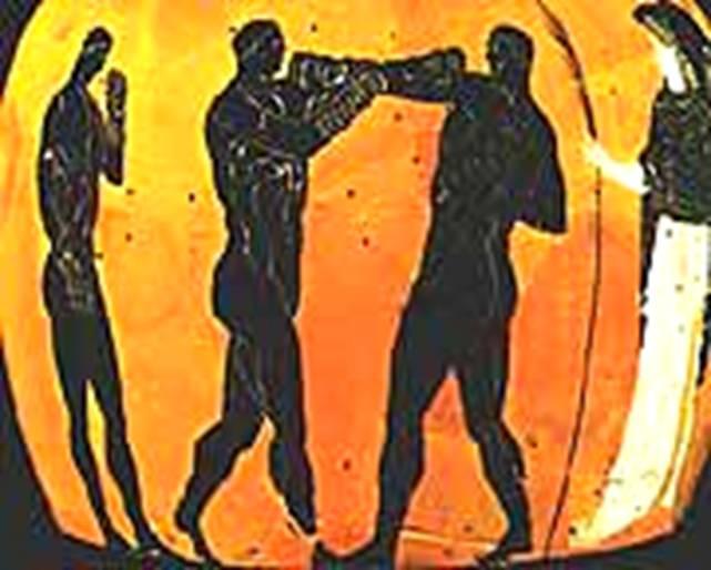 0e8d98cec719 Книга  История бокса. Кулачный бой в Древней Элладе