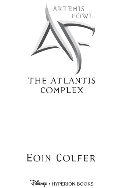 32c5e4d1e Книга  Artemis Fowl  The Atlantis Complex