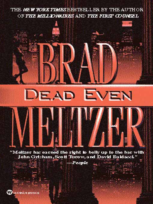Meltzer Brad - Dead Even