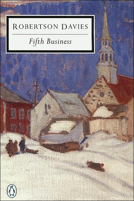 "changes identity robertson davies novel fifth business Robertson davies: ""fifth business"" dorothy l sayers states ""wherever you find a great man, you will find a great mother or a great wife standing behind him."