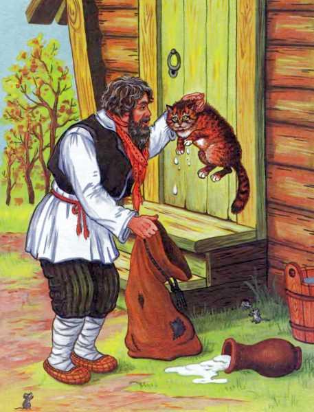 Сказка кот и иваныч