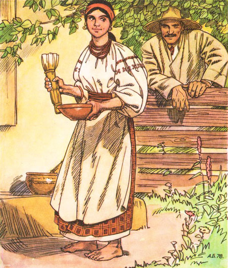 Читать книгу кайдашева семья краткое содержание