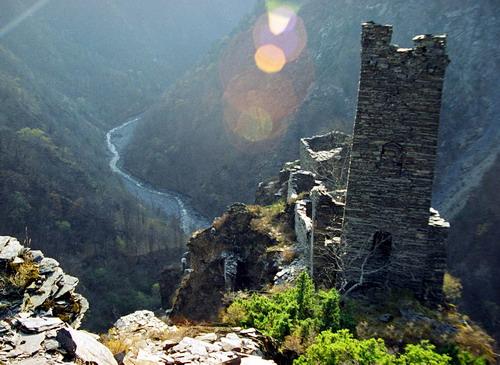 Кавказ в воде
