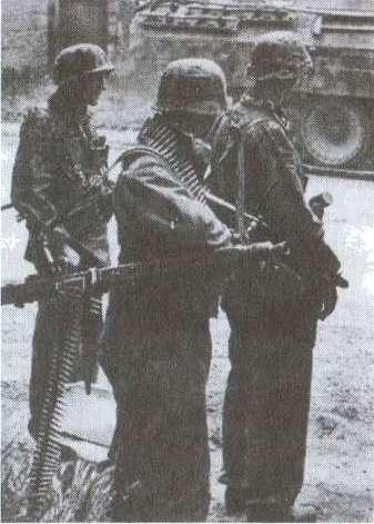 Танковые сражения войск СС