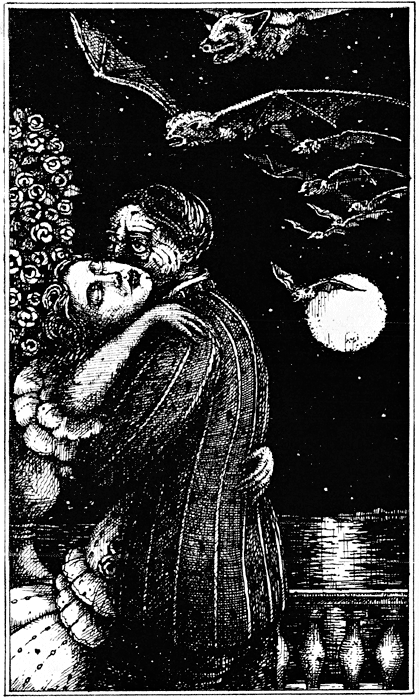 Они появляются в полночь (сборник про вампиров)