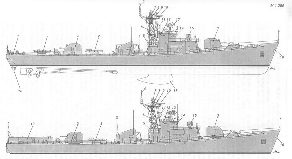 Корабли ВМФ СССР. Том 3. Противолодочные корабли. Часть 1. Противолодочные крейсера, большие противолодочные и сторожевые корабли