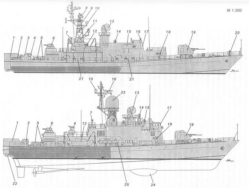 Малые противолодочные корабли