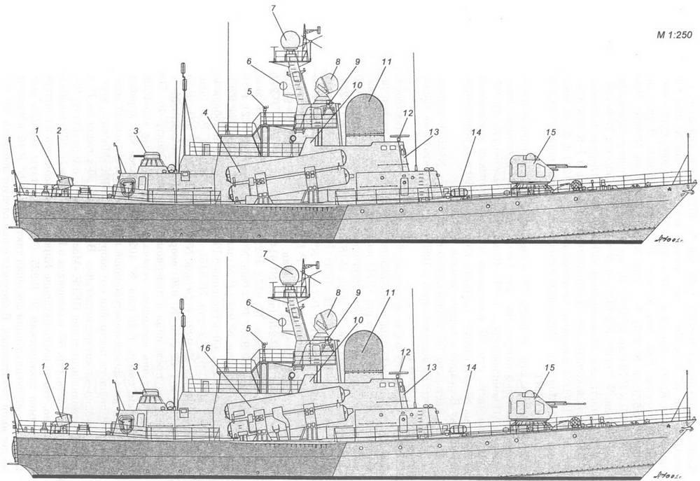 Схема наружного вида РК Р-46