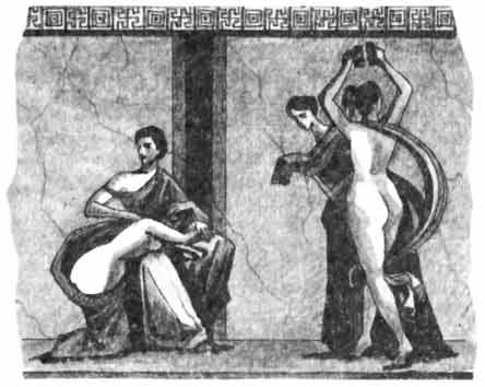 Порно рисунки светских дам в древности