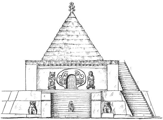 Реконструкция круглого храма в