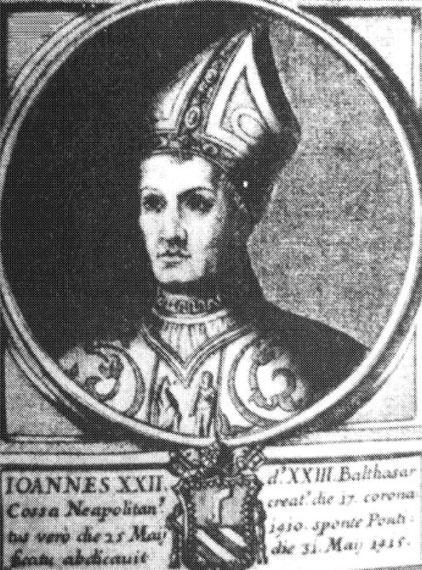 Бальтазар Косса (антипапа Иоанн XXIII) - Всемирная история пиратства