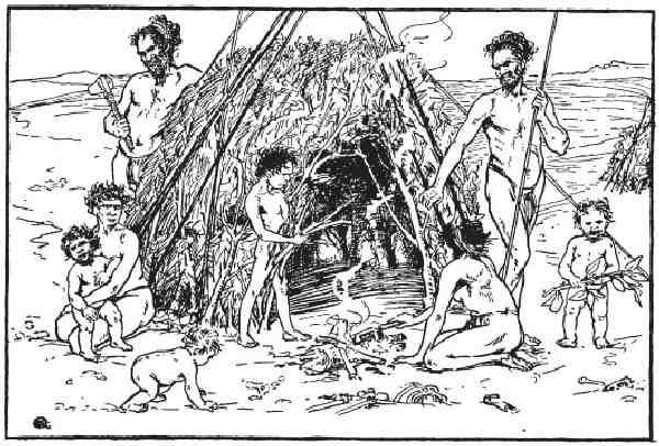 Первобытные люди. Быт, религия, культура