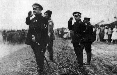 Гражданская война в России 1917-1922. Белые армии