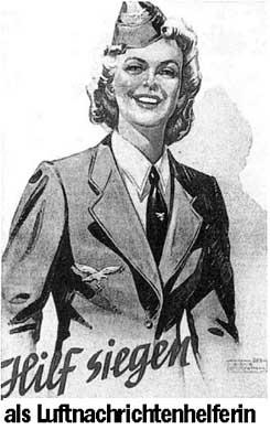 Немецкая женская пилотка