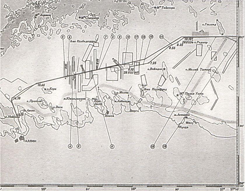 Схема проводки конвоя № 1