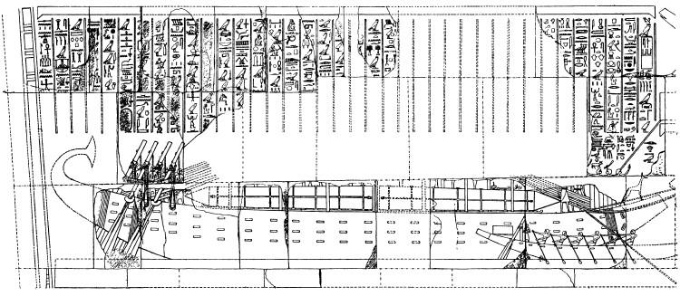 Храм Дейр-эль-Бахри, Фивы