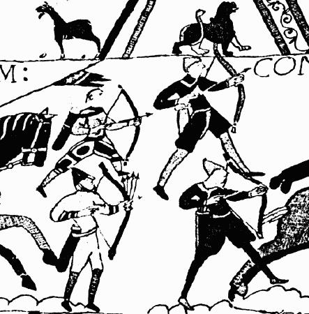 Луки и арбалеты в бою