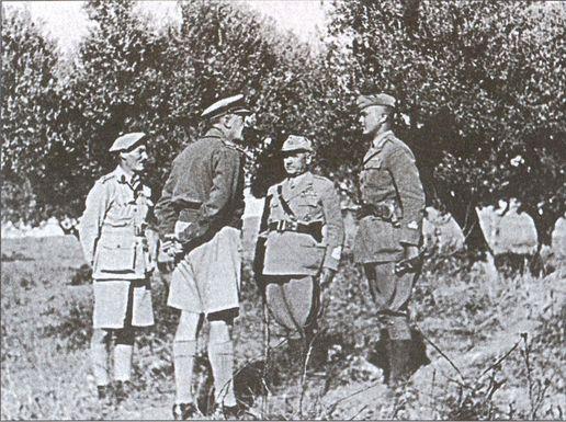 Германо-итальянские боевые операции. 1941–1943
