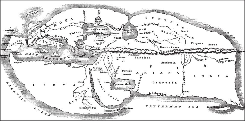 географических карт