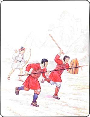Армии Древнего Китая III в. до н.э. — III в. н.э.