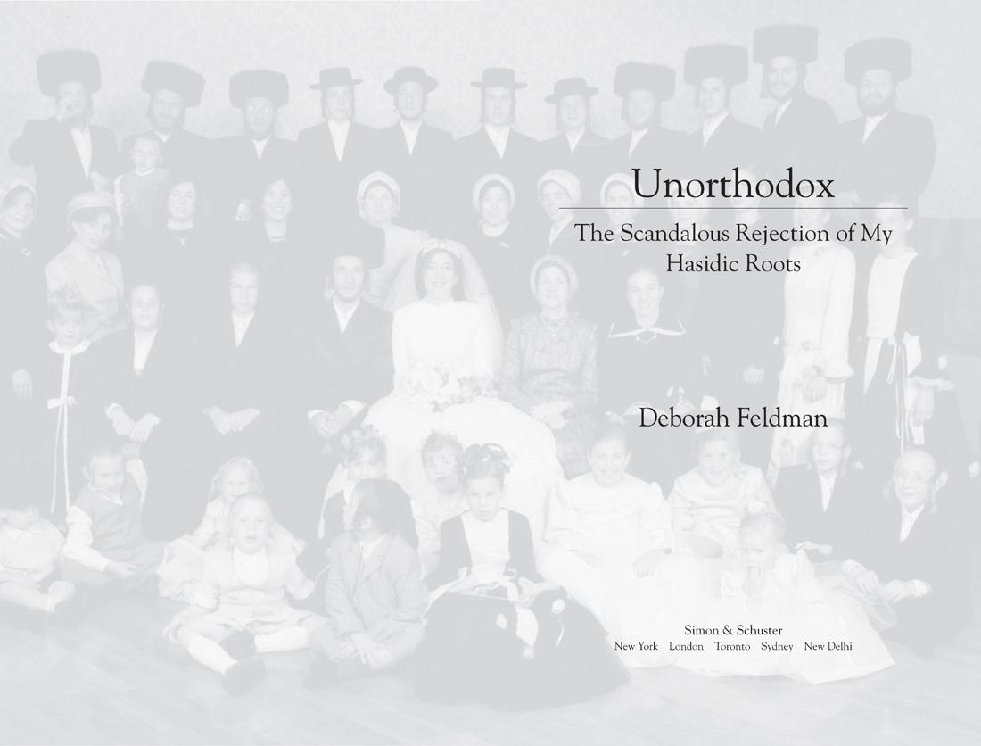 c1524c77beb Книга  Unorthodox  The Scandalous Rejection of My Hasidic Roots