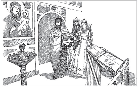 устав литургии схема