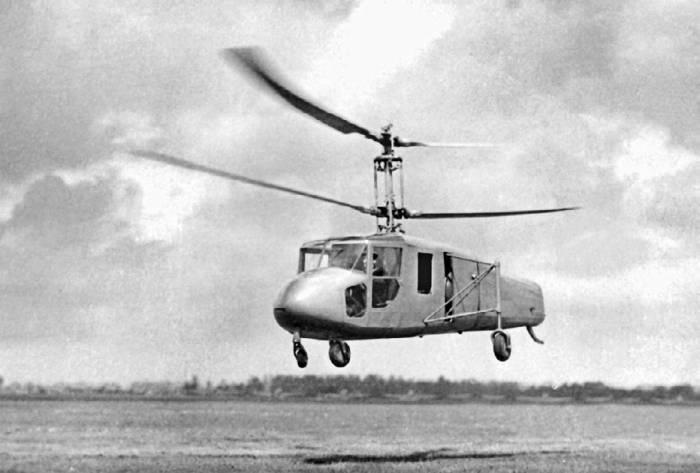 вертолет соосной схемы «Ш»