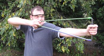 Как сделать стрельбу для лука 123