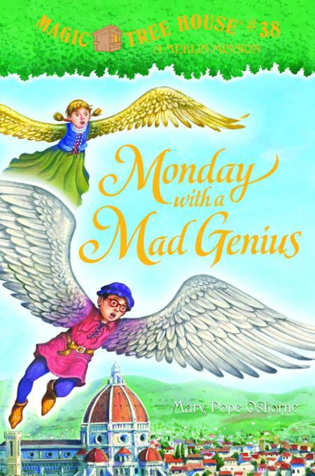 Книга Monday With A Mad Genius A Merlin Mission