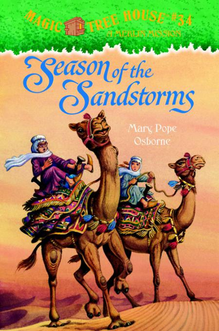 Книга Season Of The Sandstorms A Merlin Mission