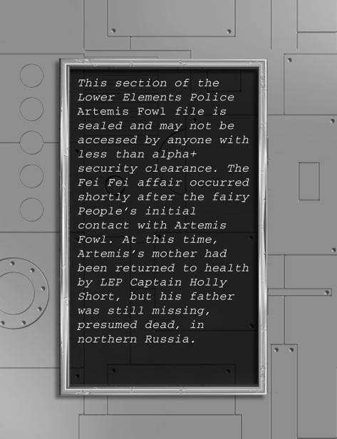 Книга: The Artemis Fowl Files