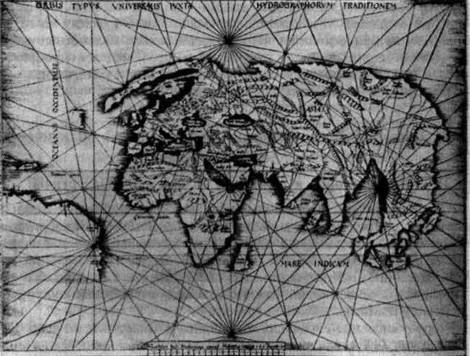 под знаком рыб карта птолемея