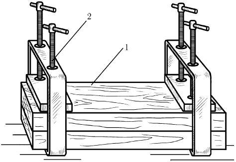 Пресс для склеивания древесины
