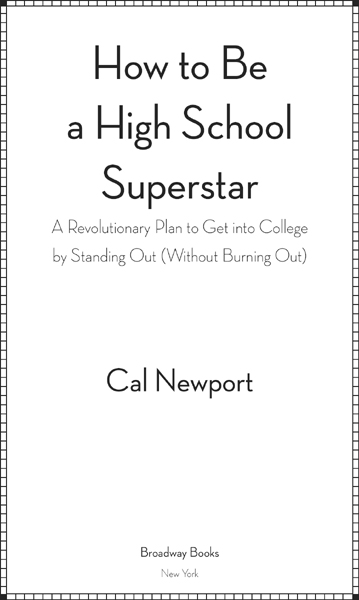 how to become a straight a student cal newport pdf