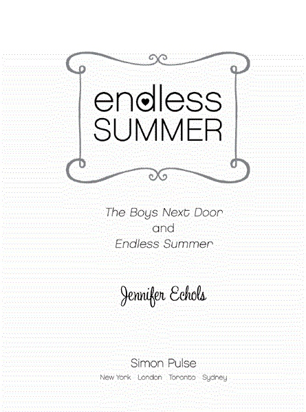 Jennifer pdf echols summer endless by