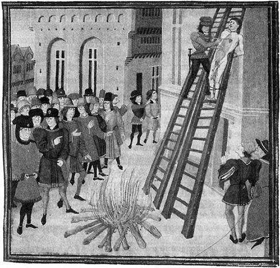Наказания сексуальные в средние века