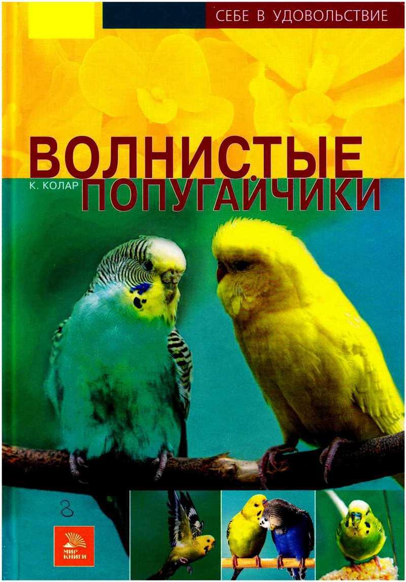 Скачать бесплатно книгу про волнистых попугаев