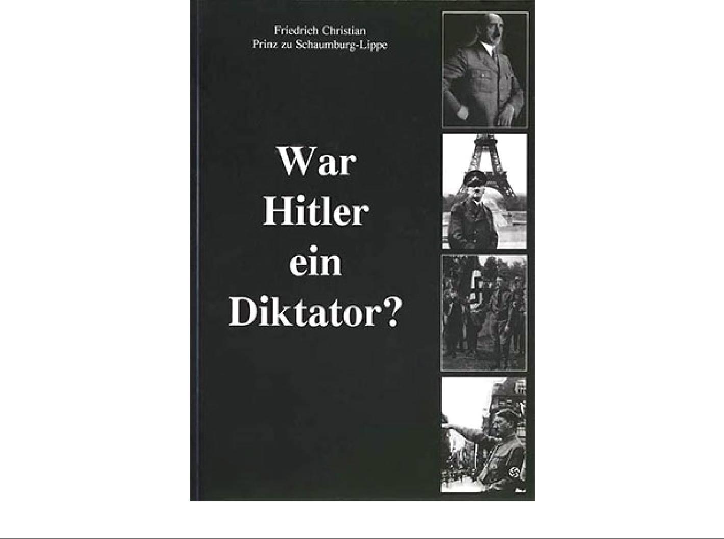 Был ли Гитлер диктатором?