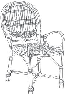 Плетение из соломки и других материалов