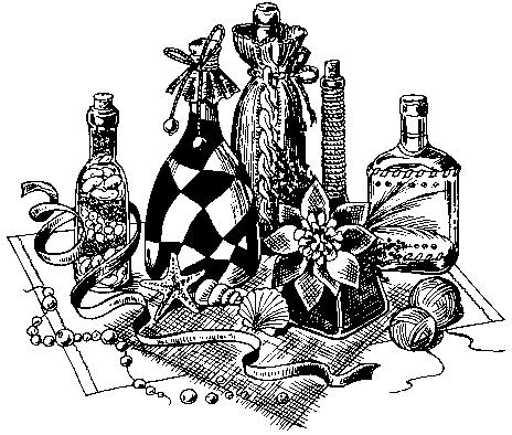 Что такое декорирование бутылок своими руками