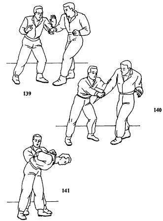рукопашный бой приемы в картинках
