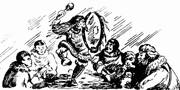 Человек с железным оленем