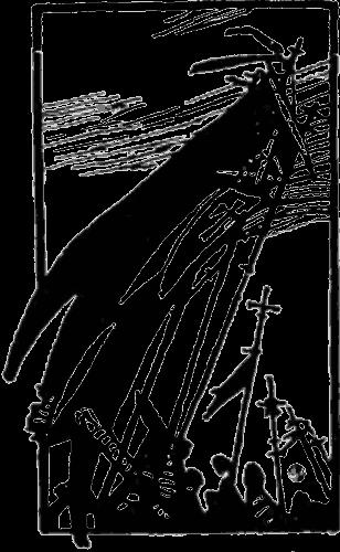 С крестом или с ножом