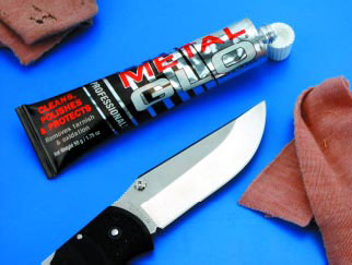 Уход за складным ножом
