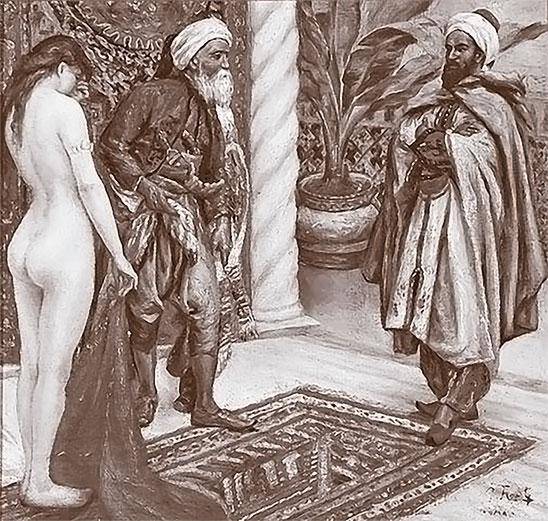 Одалиска и рабыня википедия