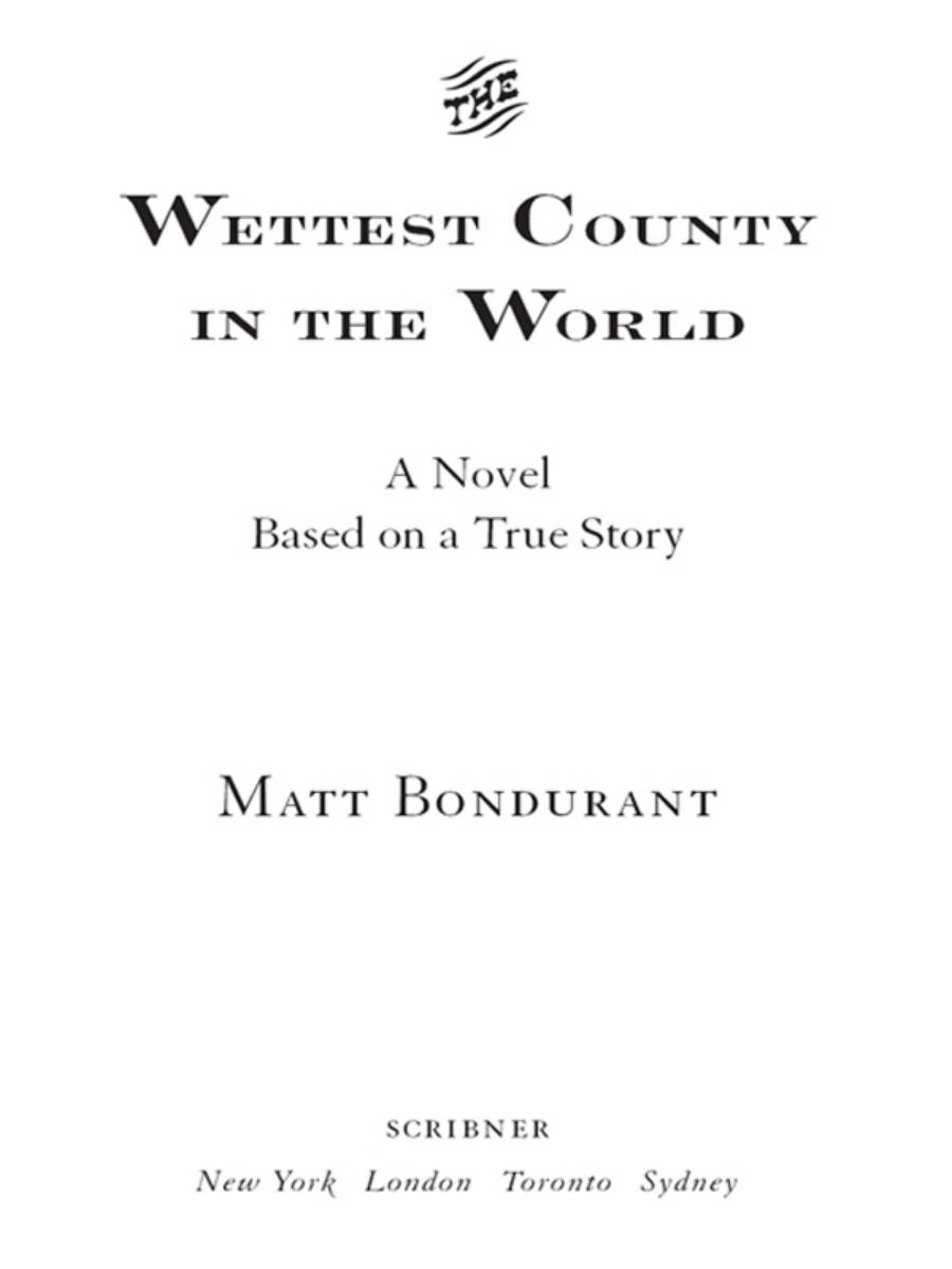 99901712975 Книга  The Wettest County in the World
