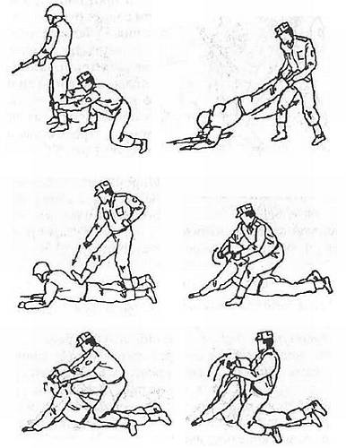 Спецприёмы рукопашного боя. Практическое пособие
