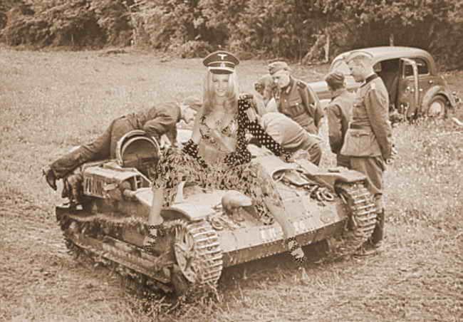 Танковый экипаж 'Валькирии'