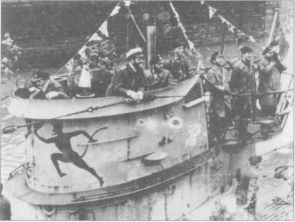 укрытия ради немецких подводных лодок