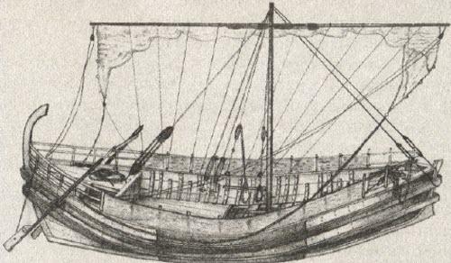 киренийского корабля (рис.
